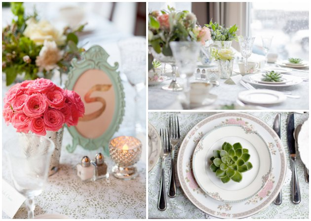 Vintage China Tablescape | 2016 Wedding Trends