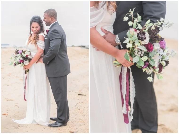 Plum and Grey Wedding