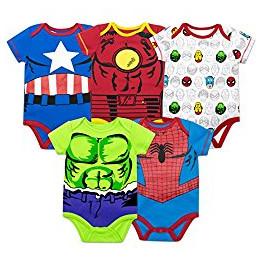 Marvel baby onesies