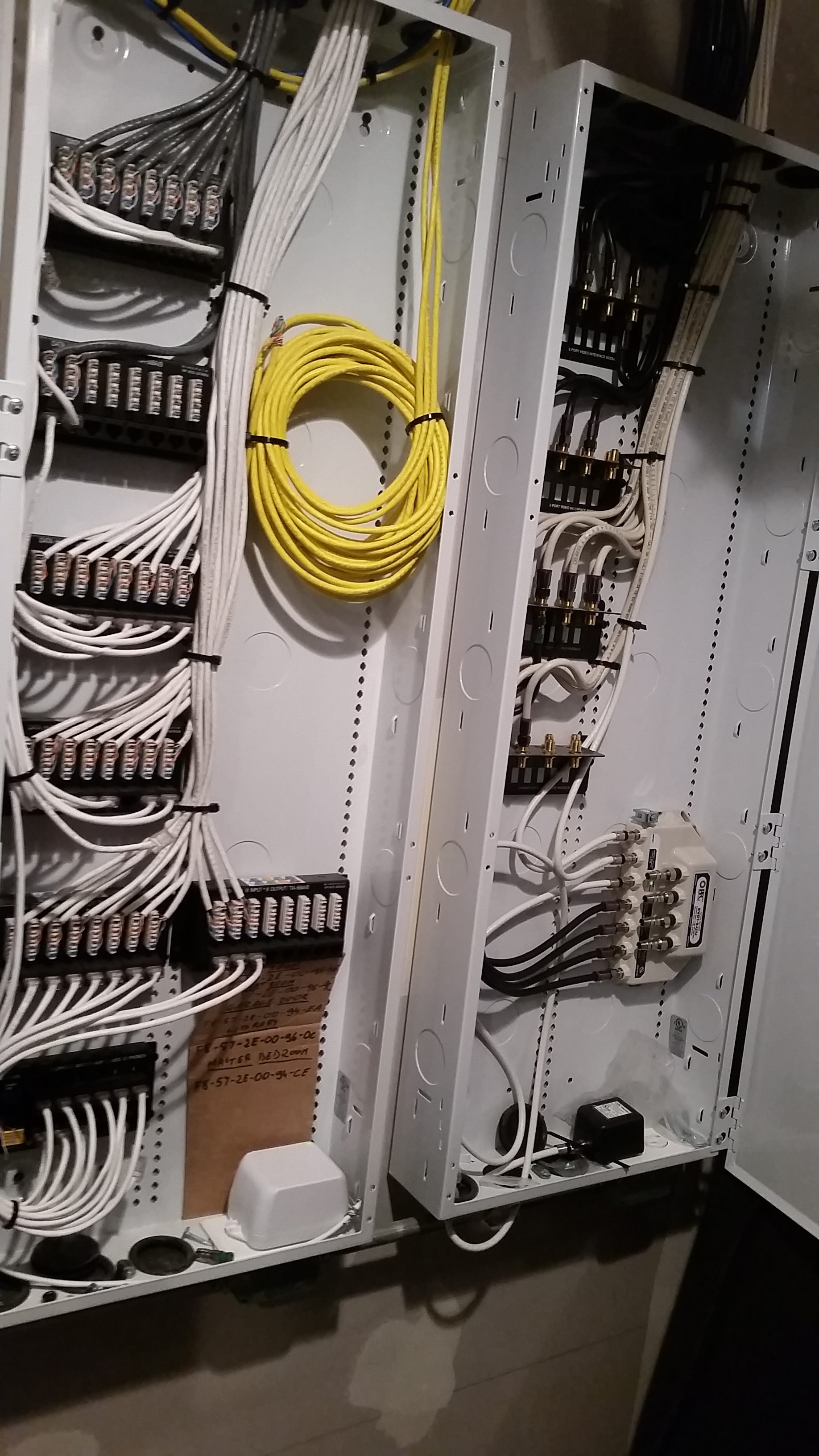 Low Voltage Wiring   How to Wire a Structured Cabling Enclosure This is the fourth post in a series on how to prewire low voltage wiring  and structured cabling in your home  We ll be focusing on how to install a