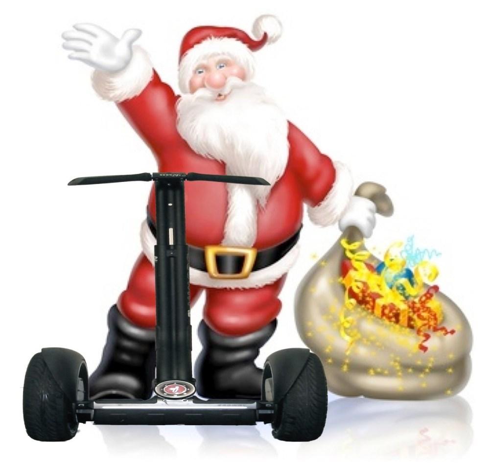Weihnachtsmann Segway