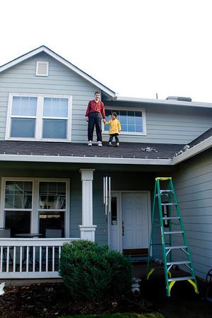 Annual Roof Climb