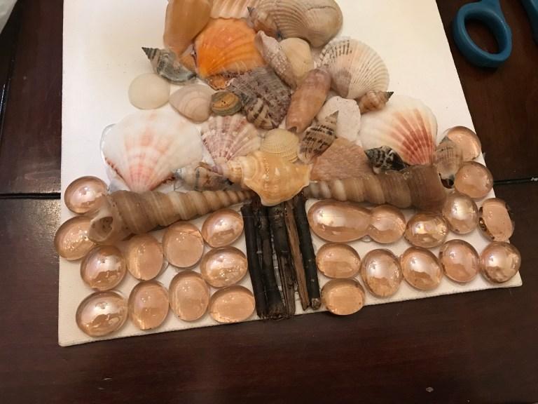 Seashell tree 05