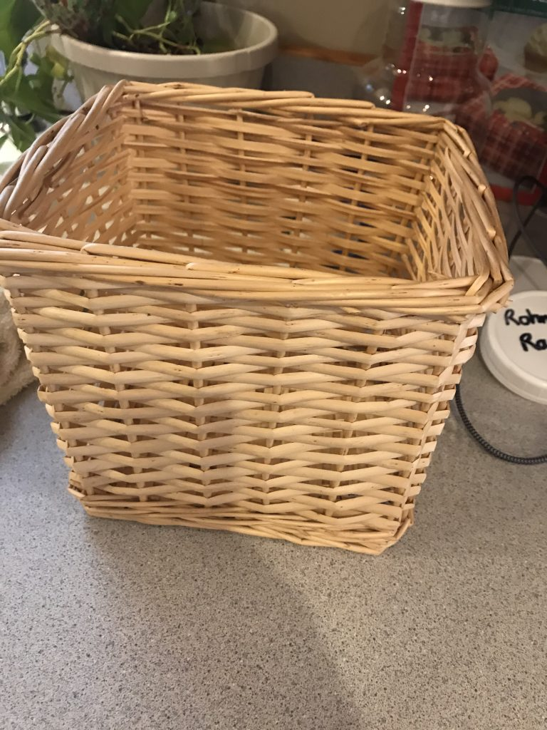 basket used for tree stand