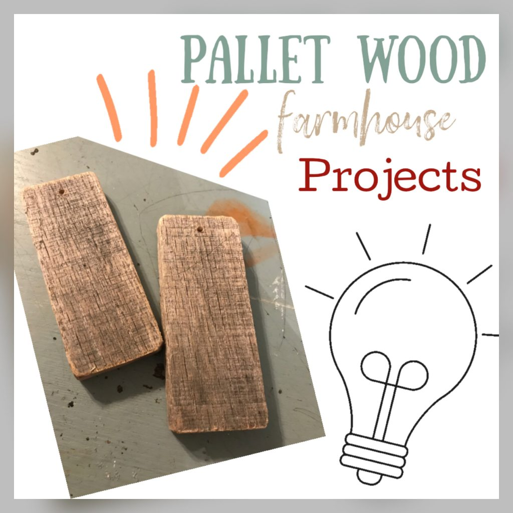Rustic Wooden Tags – Pallet Wood Craft
