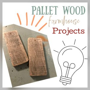 Read more about the article Rustic Wooden Tags – Pallet Wood Craft
