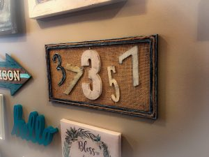 Read more about the article DIY Zip Code Sign for Your Gallery Wall