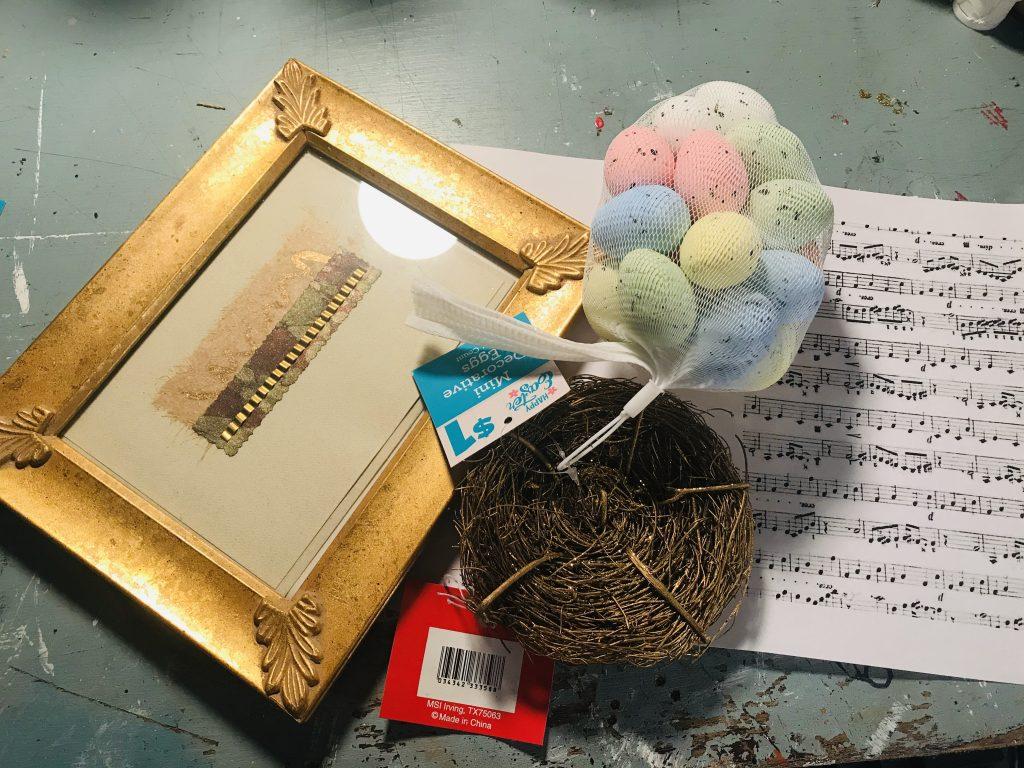 Bird's Nest Frame – Spring Farmhouse Decor