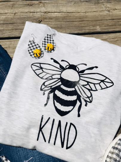 bee kind short decal | bee vinyl decal