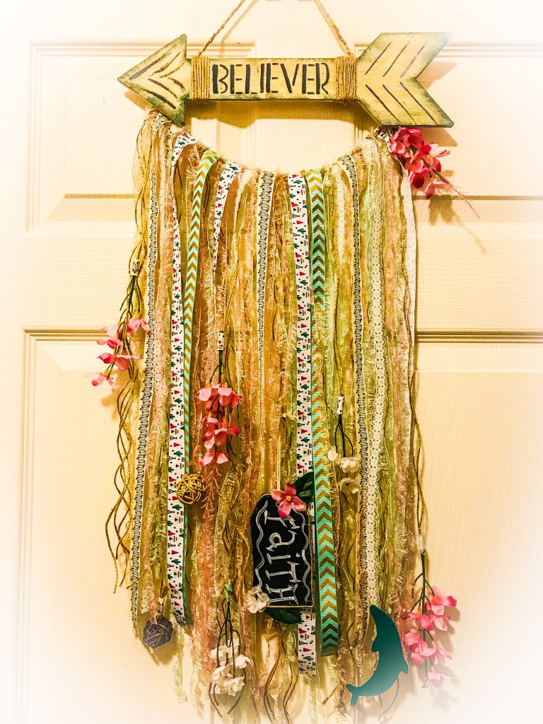 Boho Chic Wall Hanging DIY