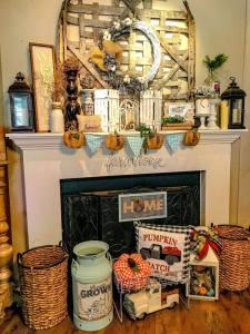top 15 garland ideas | fall mantel decorations