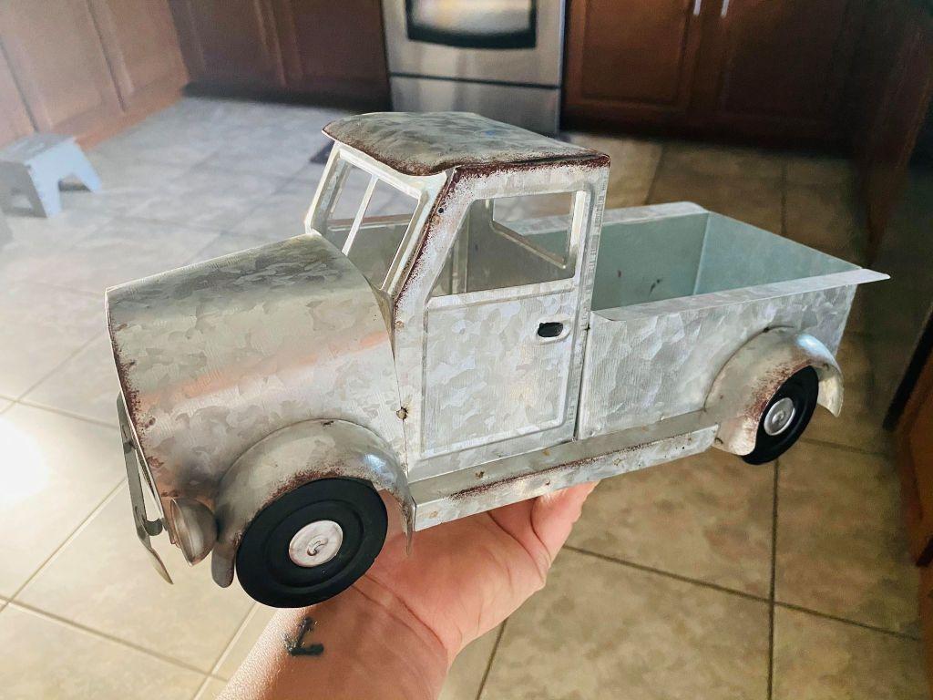 silver farm truck | #dollargeneralfarmtruck