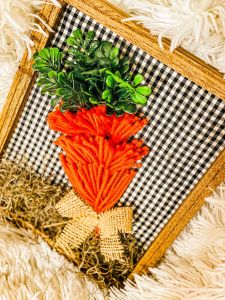 How to Create an Adorable Carrot Using Tassels