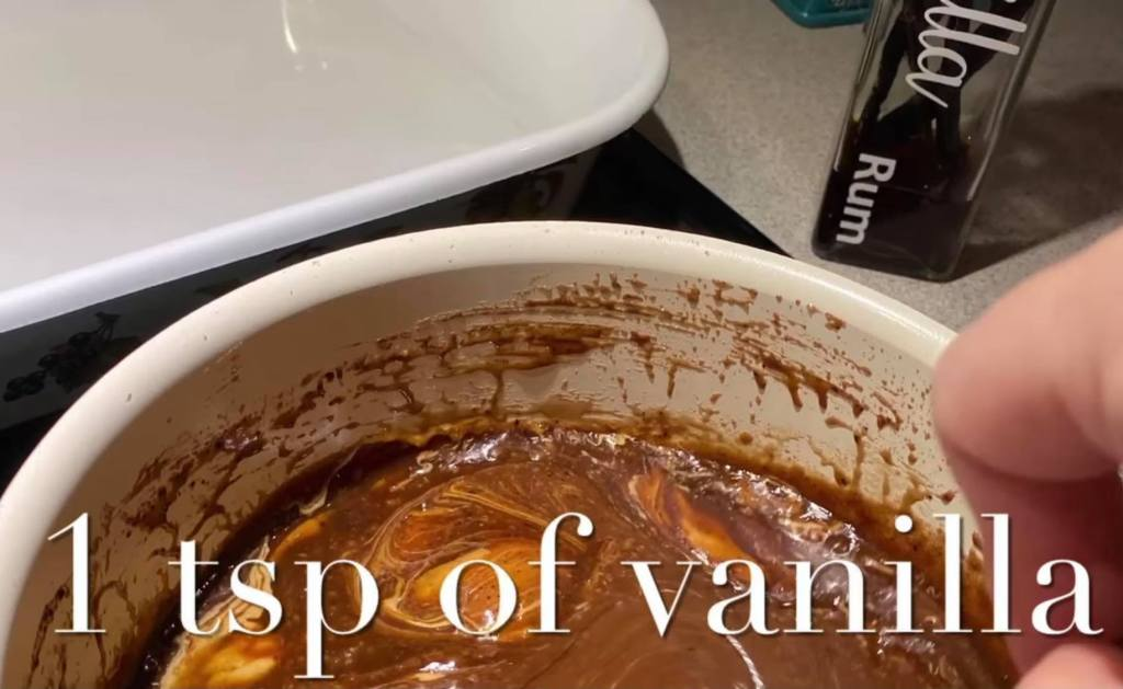 adding vanilla to cookie mixture for no bake cookies