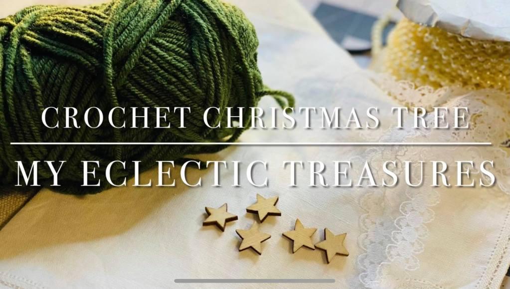 crochet christmas tree pattern #christmastreecrochetpattern