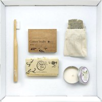 Natural Biodegradable Eco Friendly Bathroom Supply Box