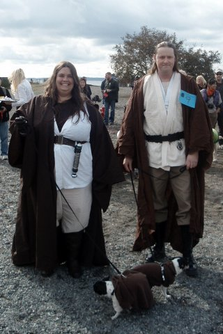 Best dogs and owners in 2012: Jedi Masters