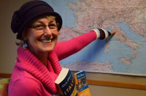"Tour guide Caterina Moore joined Rick Steves' staff in 2013, after 20 years of operating as an independent tour leader in Italy. ""I am totally thrilled to be part of this team,"" she says. Look for Caterina at this weekend's events."