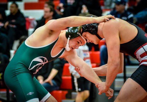Spencer Schultz finished second in districts, losing to Garrett Stich of Snohomish.