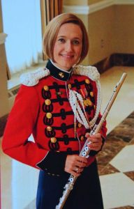 Guest soloist Ellen Dooley of the United States Marine Band.