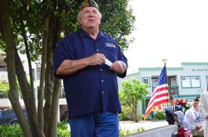 "Ron Clyborne headed up the committee that planned, designed and raised funds for the Edmonds Veterans Memorial. ""It's about remembering,"" he said. ""We will always remember the men and women -- past, present and future -- who serve in our armed forces."""
