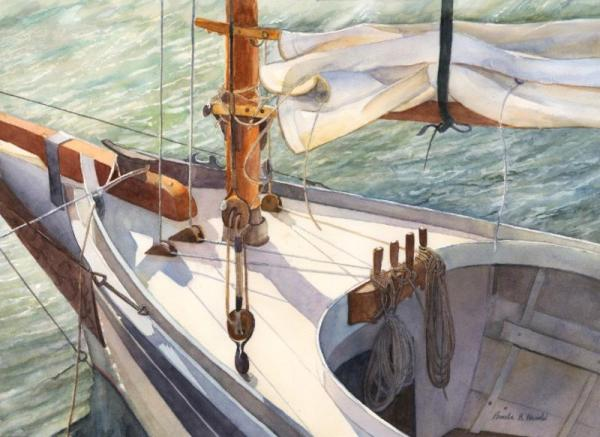 """Ready to Sail"" by Pam Harold"
