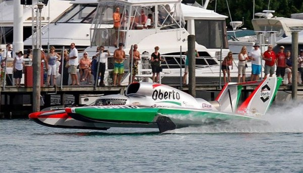 Jimmy Shane in the Oberto leads all qualifiers at 162 mph. (Photo by James Crisp)