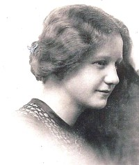 Martha as a young woman.