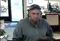 Photos of bank robbery suspect, courtesy of Banner Bank.