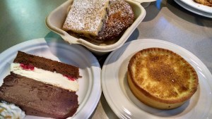 College Cafe Desserts. (Photo by Kathy Passage)