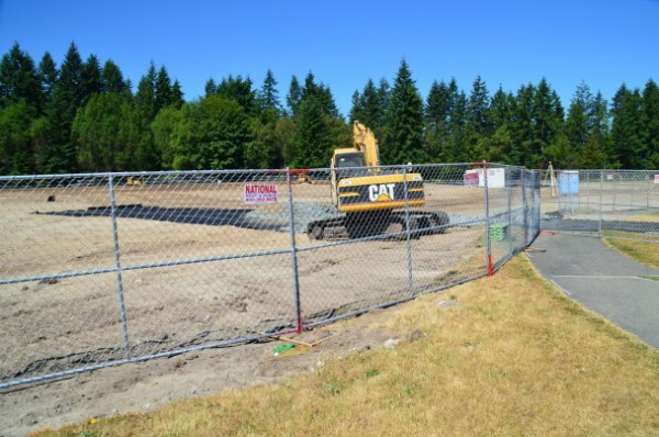 The first phase of the sports field complex  is expected to be completed this fall.
