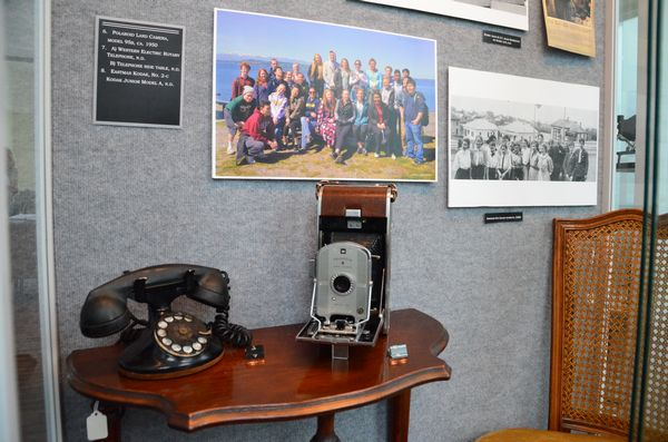 "The ""Snapshots in Time"" exhibit now at the Edmonds Historical Museum features ""now and then"" shots of familiar locations in town, as well as vintage cameras and photographic equipment."