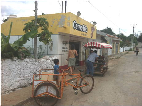 A business in Santa Elena near the Tortilleria.