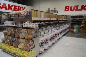 WinCo's bulk food department stocks a wide variety of items including candy, cereals, coffee and more.