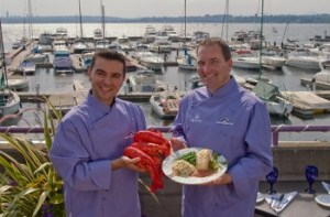 Visit Anthony's for their lobster special.
