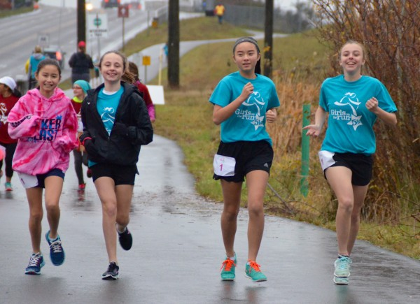 The rain was no match for these smiling faces.