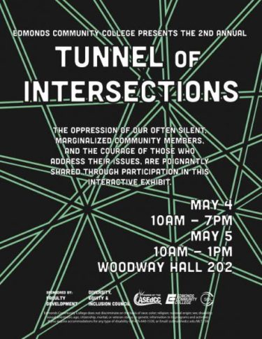Edmonds Cc To Present Its Second Annual Tunnel Of Intersections