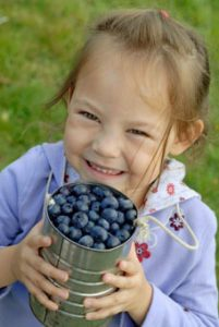Smiles at Bryant Blueberry Farm.