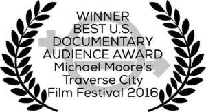 """Equal Means Equal"" produced by local filmmaking team Kamala Lopez and Joel Marshall wins the Audience Award for Best U.S. Documentary in the Michael Moore Traverse City Film Festival 2016."