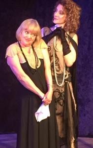 "Susan Connors (L) and her alter-ego in ""I'm HerHerbert"" which continues its very funny run this weekend."