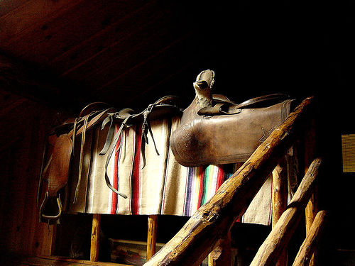 Old Sidesaddle from Early Montana days by Bitterroot on flickr