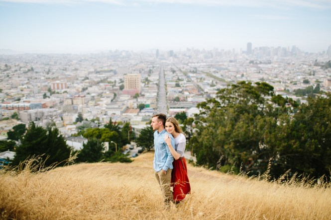 the best spots for san francisco engagement photos engaged life