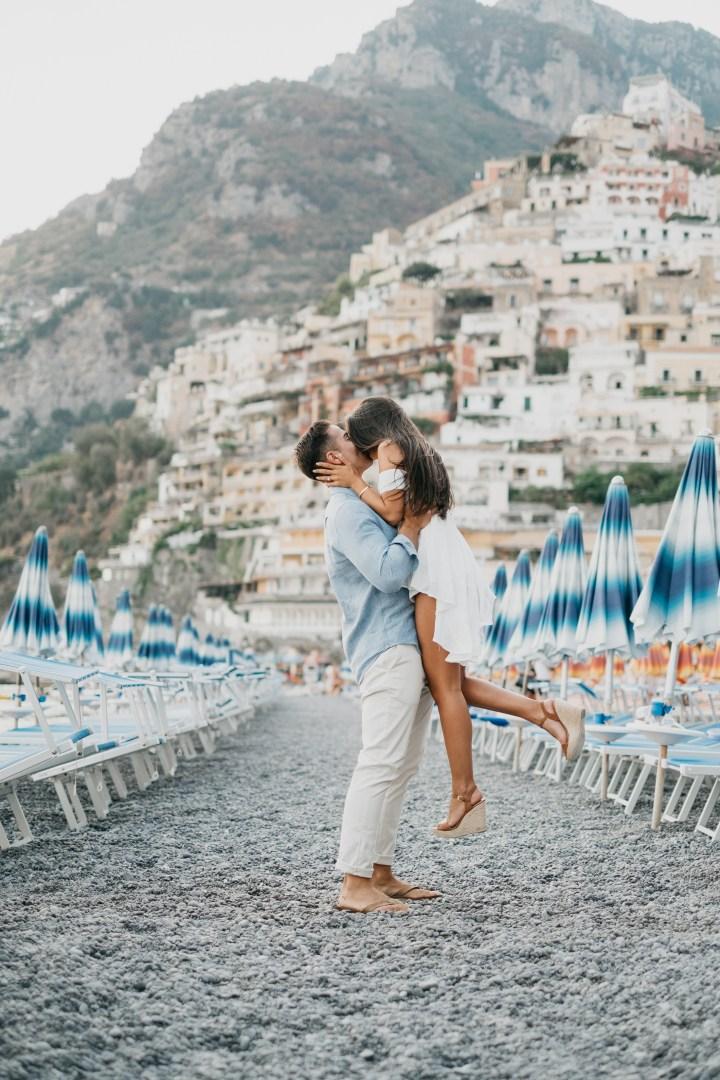 An Insanely Romantic Positano Proposal
