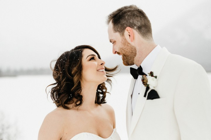 Straight Out Of A Fairytale – A Whimsical Winter Wedding in Banff