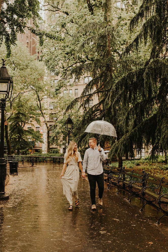 Greenwich Village Engagement Photos-1