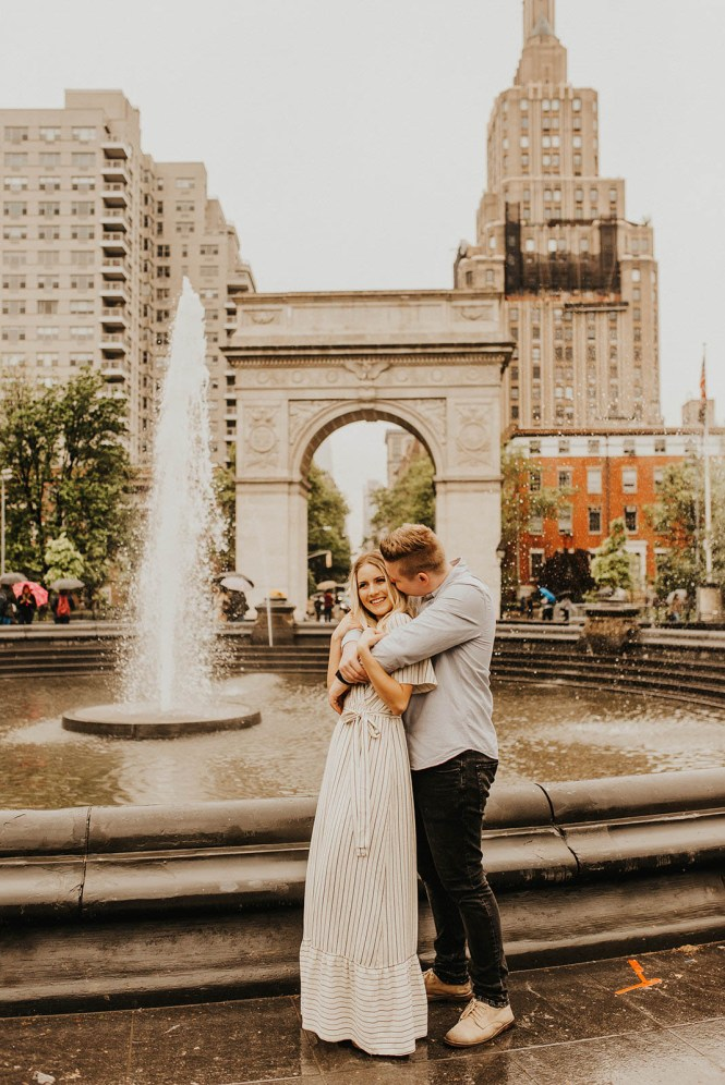 Greenwich Village Engagement Photos-11
