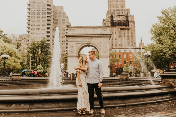Greenwich Village Engagement Photos-12