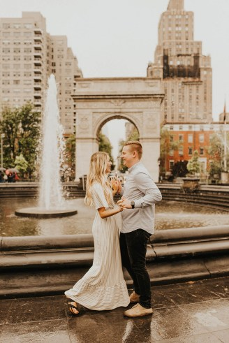 Greenwich Village Engagement Photos-15