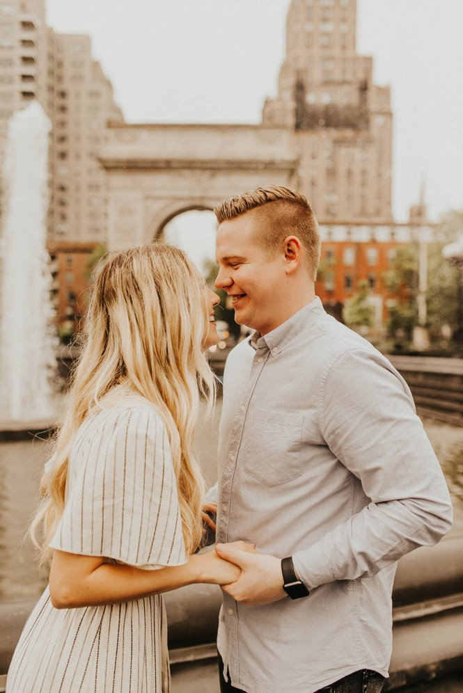 Greenwich Village Engagement Photos-16