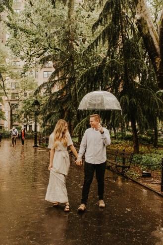 Greenwich Village Engagement Photos-2